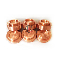 High purity 99.9999%copper alloy target